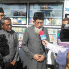 Amir-e Jamaat flags off Mobile Book Van