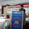 Secretary General JIH in Leaders training camp in AP