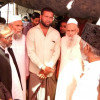 Jamaat leadership visits burnt Rohingya Refugee Camp in Delhi