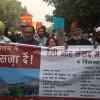 Protest March on 26th anniversary of Babri Masjid demolition