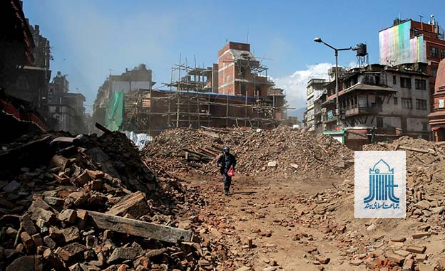 JIH relief team begins survey and planning in Nepal