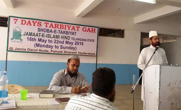 Jamaat-e-Islami Hind (Telangana) organized a 7 days Tarbiyatgah3