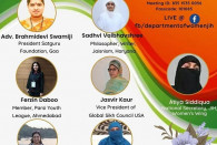 Interfaith-program of women scholars on 'STRONG FAMILY STRONG SOCIETY'