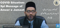 Jamaat-e-Islami Hind President calls upon cadre to serve people amidst second wave
