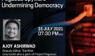 JIH weekly online program on 'Pegasus Spyware-Undermining democracy': Ajoy Ashirwad, Deputy Editor, The Wire