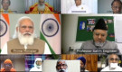 Religious leaders including JIH V-P Salim Engineer meet online with PM Modi, offer support to meet challenges of Corona pandemic